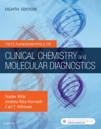 cover image - Tietz Fundamentals of Clinical Chemistry and Molecular Diagnostics Elsevier eBook on VitalSource,8th Edition