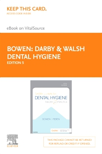 cover image - Darby & Walsh Dental Hygiene Elsevier eBook on VitalSource (Retail Access Card),5th Edition