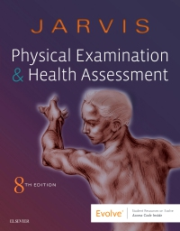 cover image - Physical Examination and Health Assessment - Elsevier eBook on VitalSource,8th Edition