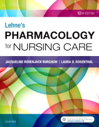 cover image - Lehne's Pharmacology for Nursing Care Elsevier e-Book on VitalSource,10th Edition