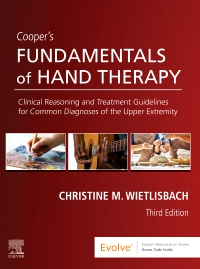 cover image - Cooper's Fundamentals of Hand Therapy - Elsevier eBook on VitalSource,3rd Edition