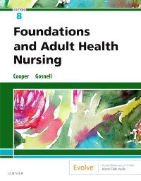 cover image - Foundations and Adult Health Nursing Elsevier eBook on VitalSource,8th Edition