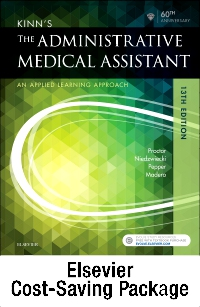 cover image - Kinn's The Administrative Medical Assistant - Text, Study Guide, and Checklists,13th Edition