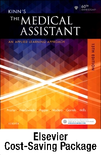 cover image - Kinn's The Medical Assistant - Text and Checklists,13th Edition