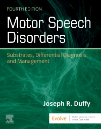 cover image - Motor Speech Disorders Elsevier eBook on VitalSource,4th Edition