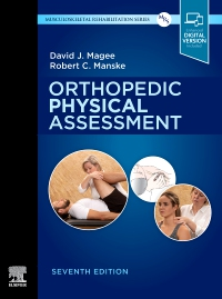 cover image - Orthopedic Physical Assessment - Elsevier eBook on VitalSource,7th Edition