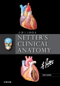 cover image - Evolve Resources for Netter's Clinical Anatomy,4th Edition