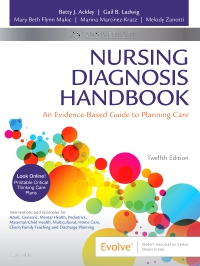 cover image - Evolve Resources for Nursing Diagnosis Handbook,12th Edition