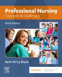cover image - Professional Nursing,9th Edition