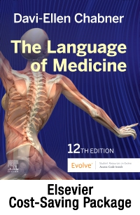 cover image - Medical Terminology Online with Elsevier Adaptive Learning for The Language of Medicine (Access Code and Textbook Package),12th Edition