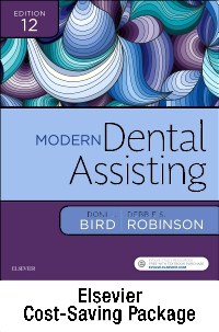 cover image - Modern Dental Assisting - Text, Student Workbook, Skills Checklists, and Boyd: Dental Instruments 6e,12th Edition