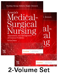 cover image - Lewis's Medical-Surgical Nursing - 2-Volume Set,11th Edition