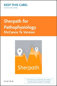 cover image - Sherpath for Pathophysiology (McCance Version) - Access Card,7th Edition