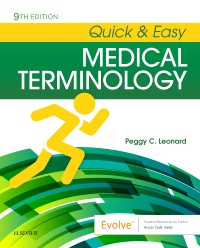 cover image - Quick & Easy Medical Terminology - Elsevier eBook on VitalSource,9th Edition
