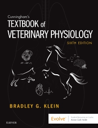 cover image - Textbook of Veterinary Physiology - Elsevier eBook on VitalSource,6th Edition