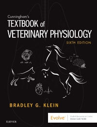 cover image - Evolve Resources for Cunningham's Textbook of Veterinary Physiology,6th Edition
