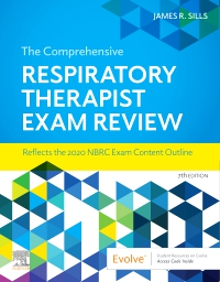 cover image - The Comprehensive Respiratory Therapist Exam Review,7th Edition