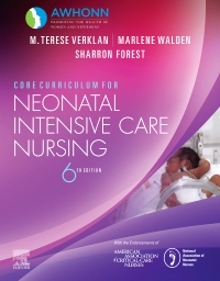 cover image - Core Curriculum for Neonatal Intensive Care Nursing,6th Edition