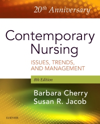 cover image - Evolve Resources for Contemporary Nursing,8th Edition