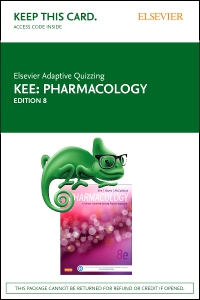cover image - Elsevier Adaptive Quizzing for Pharmacology (Retail Access Card),8th Edition