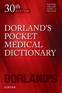 cover image - Dorland's Pocket Medical Dictionary,30th Edition