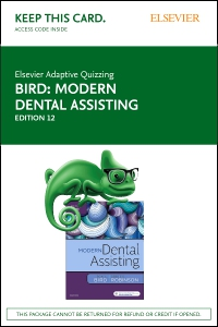 cover image - Elsevier Adaptive Quizzing for Modern Dental Assisting (Retail Access Card),12th Edition