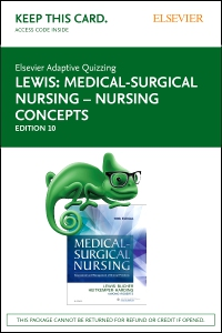 cover image - Elsevier Adaptive Quizzing for Medical-Surgical Nursing – Nursing Concepts (Access Card),10th Edition