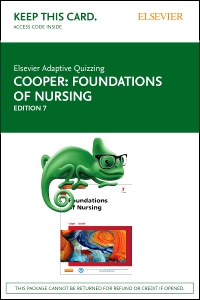 cover image - Elsevier Adaptive Quizzing for Foundations of Nursing (Access Card),7th Edition