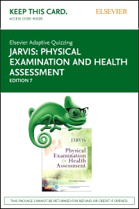 cover image - Elsevier Adaptive Quizzing for Jarvis Physical Examination and Health Assessment (Access Card),7th Edition