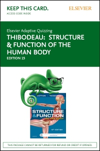 cover image - Elsevier Adaptive Quizzing for Structure & Function of the Human Body (Access Card),15th Edition