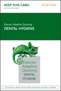 cover image - Elsevier Adaptive Quizzing for Dental Hygiene (Access Card)