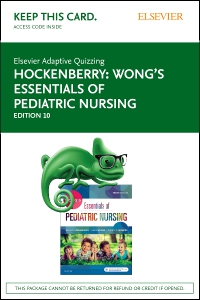 cover image - Elsevier Adaptive Quizzing for Hockenberry Wong's Essentials of Pediatric Nursing (Access Card),10th Edition