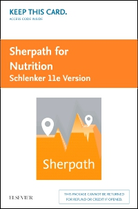 cover image - Sherpath for Nutrition (Schlenker Version) - Access Card,11th Edition