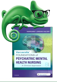 cover image - Elsevier Adaptive Quizzing for Halter Varcarolis' Foundations of Psychiatric-Mental Health Nursing,8th Edition