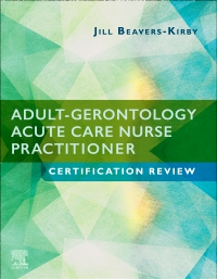 cover image - Adult-Gerontology Acute Care Nurse Practitioner Certification Review Elsevier eBook on VitalSource