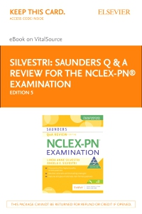 cover image - Saunders Q & A Review for the NCLEX-PN® Examination - Elsevier eBook on VitalSource (Retail Access Card),5th Edition