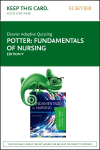 cover image - Elsevier Adaptive Quizzing for Fundamentals of Nursing (Access Card),9th Edition