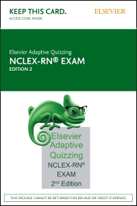 cover image - Elsevier Adaptive Quizzing for the NCLEX-RN Exam (36-Month) (Access Card),2nd Edition