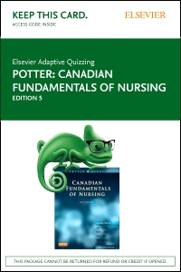 cover image - Elsevier Adaptive Quizzing for Canadian Fundamentals of Nursing (Access Card),5th Edition