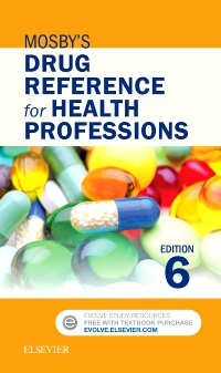 cover image - Mosby's Drug Reference for Health Professions - Elsevier eBook on VitalSource,6th Edition