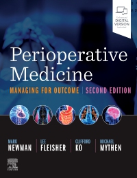 cover image - Evolve Resources for Perioperative Medicine,2nd Edition