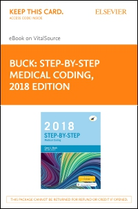 cover image - Step-by-Step Medical Coding, 2018 Edition - Elsevier eBook on VitalSource (Retail Access Card)