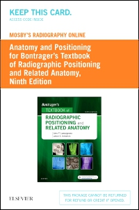 cover image - Mosby's Radiography Online,9th Edition