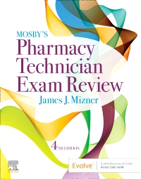 cover image - Mosby's Pharmacy Technician Exam Review Elsevier eBook on VitalSource,4th Edition