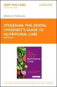 cover image - The Dental Hygienist's Guide to Nutritional Care Elsevier eBook on VitalSource (Retail Access Card),5th Edition