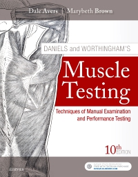 cover image - Daniels and Worthingham's Muscle Testing E-Book,10th Edition