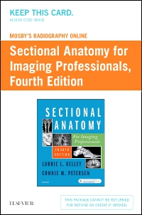 cover image - Mosby's Radiography Online for Sectional Anatomy for Imaging Professionals (Access Code),4th Edition
