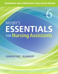cover image - Workbook and Competency Evaluation Review for Mosby's Essentials for Nursing Assistants - Elsevier eBook on VitalSource,6th Edition