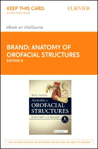 cover image - Anatomy of Orofacial Structures - Elsevier eBook on VitalSource (Retail Access Card),8th Edition