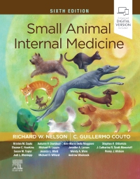 cover image - Small Animal Internal Medicine,6th Edition